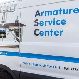 Referenzen von ASC GmbH - Industrie Armaturen Service Center in Wittlingen